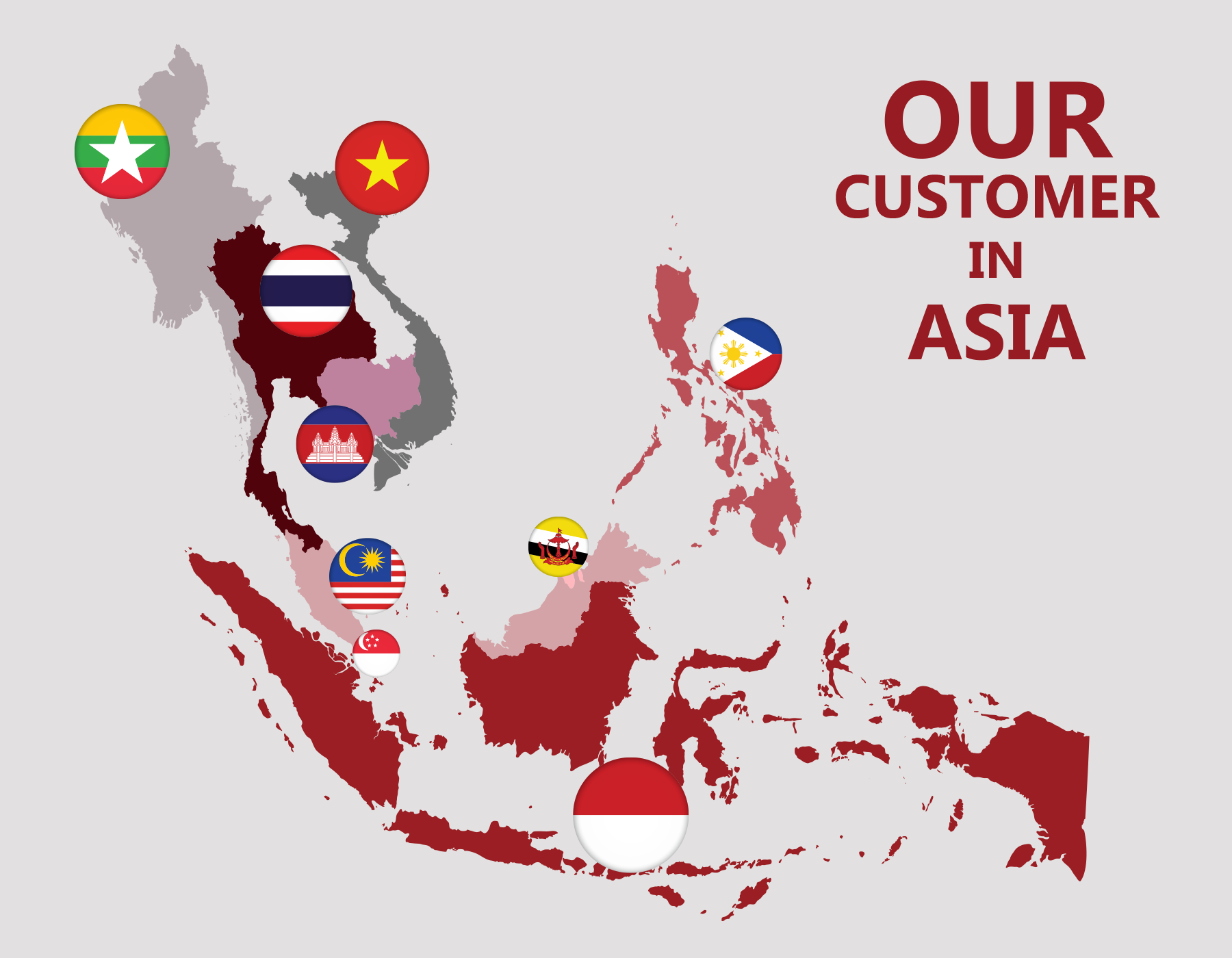 Our Customer in ASIA